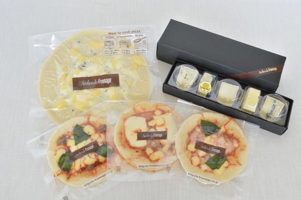 ナチュラルチーズ とピザセット